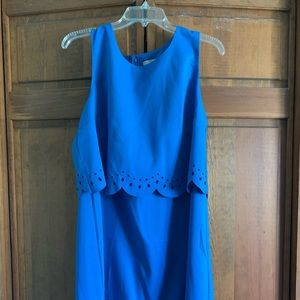 Brand New With Tags | loft Blue Eyelet Dress